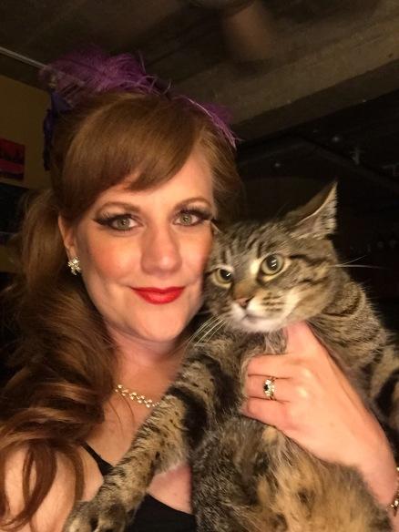 Post-show Kitten & kitten selfie